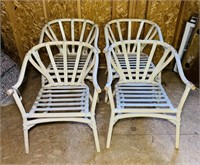 4 Matching Outdoor Chairs