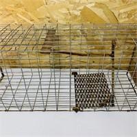 Medium Size Animal Live Trap, Works