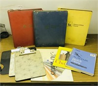 Artist Course books, paper for different media