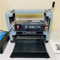 """Delta 12"""" Portable Planer, #22-540, Works"""