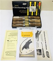 Gunline Tools Checkering Set