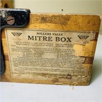 Miller Falls Mitre Box, USA Made
