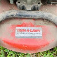 Trim-A-Lawn Push String Trimmer, Neat Machine,