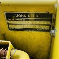 """John Deere 30"""" Tiller 200, was being used"""