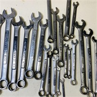 Lot of all Craftsman Wrenches