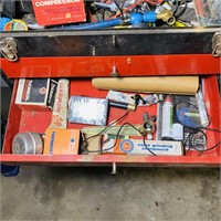 CTT Tools Metal Toolbox with contents