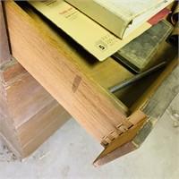 Kroehler Dresser used in garage on wheels, Solid,