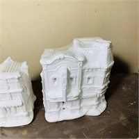 7 SEALED Paintable Buildings from Franks.
