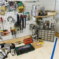 Contents of Bench and Wall plus 2 drawers full