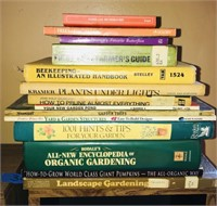 Gardening, pruning and outdoor books