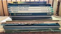 Fishing books and fishing in Michigan manuals.