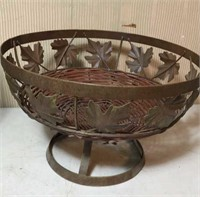 Wine rack and matching fruit bowl