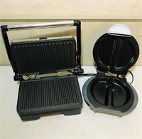 West Brand and Xpress 101 sandwich makers