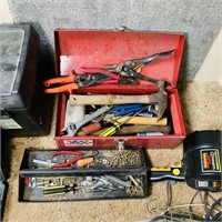 Lot of tools around House,