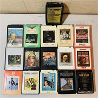 (16)  8 Track Tapes