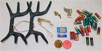 Hunting Lot, Synthetic Rattling Antlers, 22 Long,