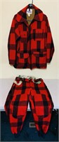 Woolrich Hunting Suit, Coat is size 40