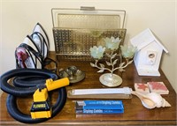 Lot of Room Contents, Flowbee, Combs, Brass