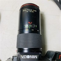 (2) 35mm Cameras, Minolta Maxxum 5000 w/flash,