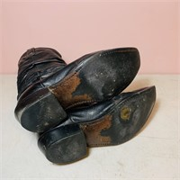 Dingo 8.5 D Grunge style, worn out boots