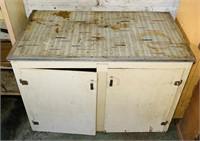 "Old Cabinet, 44"" x 24"" deep x 34"" high"