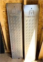 Tuff Shed Metal Ramps 4ft long