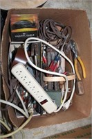 Assorted Electrical Items And Hand Tools