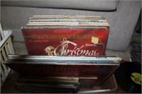 Lot of Vinyl LP Records, 45's, And CD's