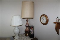 Table Lamps, Lighted Floral, And Misc.
