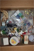 Lot of Assorted Sewing And Craft Items