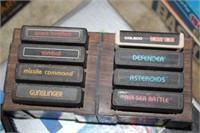 Atari CX-2600R Video Computer System W/ Games