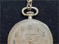 Vintage Wadsworth South Bend Pocket Watch