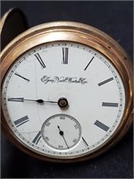 Elgin Natl Watch Co Montauk Pocket Watch