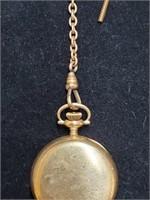Vintage 14k Gold Waltham Keystone Pocket Watch