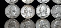 Lot of 18 Silver Quarters - Various Dates