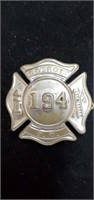 Vintage 194 Detroit Fire Department Pin