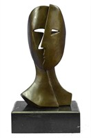 PICASSO SIGNED BRONZE SCULPTURE