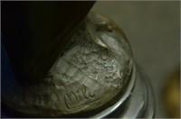 MILO OWL BIRD BRONZE SCULPTURE