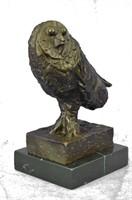 PICASSO OWL BRONZE SCULPTURE