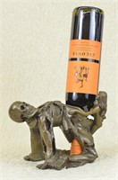 JEAN PATOU ANGEL OF DEATH  BRONZE WINE HOLDER