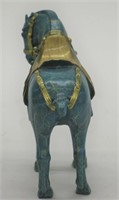 WILLIAMS CHINESE TANG HORSE BRONZE SCULPTURE