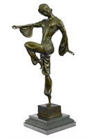 CHIPARUS EGYPTIAN BELLY DANCERS BRONZE SCULPTURE