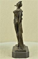 D.H CHIPARUS' VINTAGE EXOTIC DANCER FIGURINE