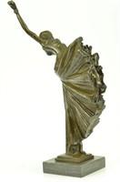 D.H CHIPARUS CHORUS DANCER BRONZE FIGURINE
