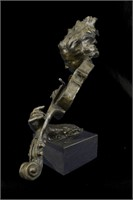 MILO BEAUTIFUL VIOLINIST SCULPTURE