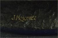 J.MOIGNIEZ LARGE BULL BRONZE SCULPTURE
