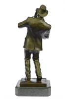 FISHER'S HOT CASE SAXOPHONE PLAYER BASE FIGURINE