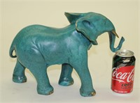 BARYE LIMITED EDITION ELEPHANT BRONZE SCULPTURE