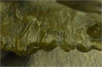 BUGATTI 40 POUNDS WILDLIFE MOOSE SCULPTURE
