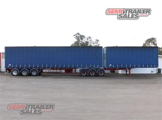 2000 Maxitrans Curtainsider Trailer Semi Trailer Sales Pty Ltd - Trailers for Sale